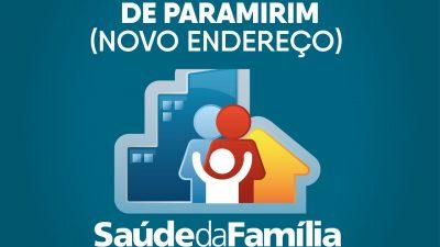 Prefeitura entregará Nova Unidade de Saúde da Família de Paramirim