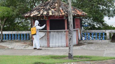 Prefeitura segue realizando desinfecção e amplas ações de saúde em todos os bairros, no mês de novembro