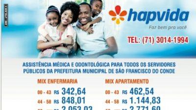 Plano de Saúde conveniado à Prefeitura comunica sobre reajuste