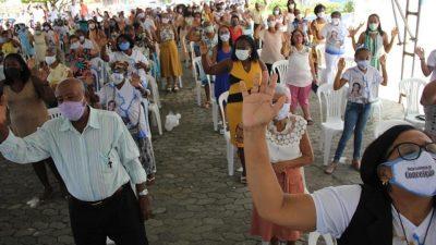 SFC: Fiéis celebram devoção a Imaculada Conceição