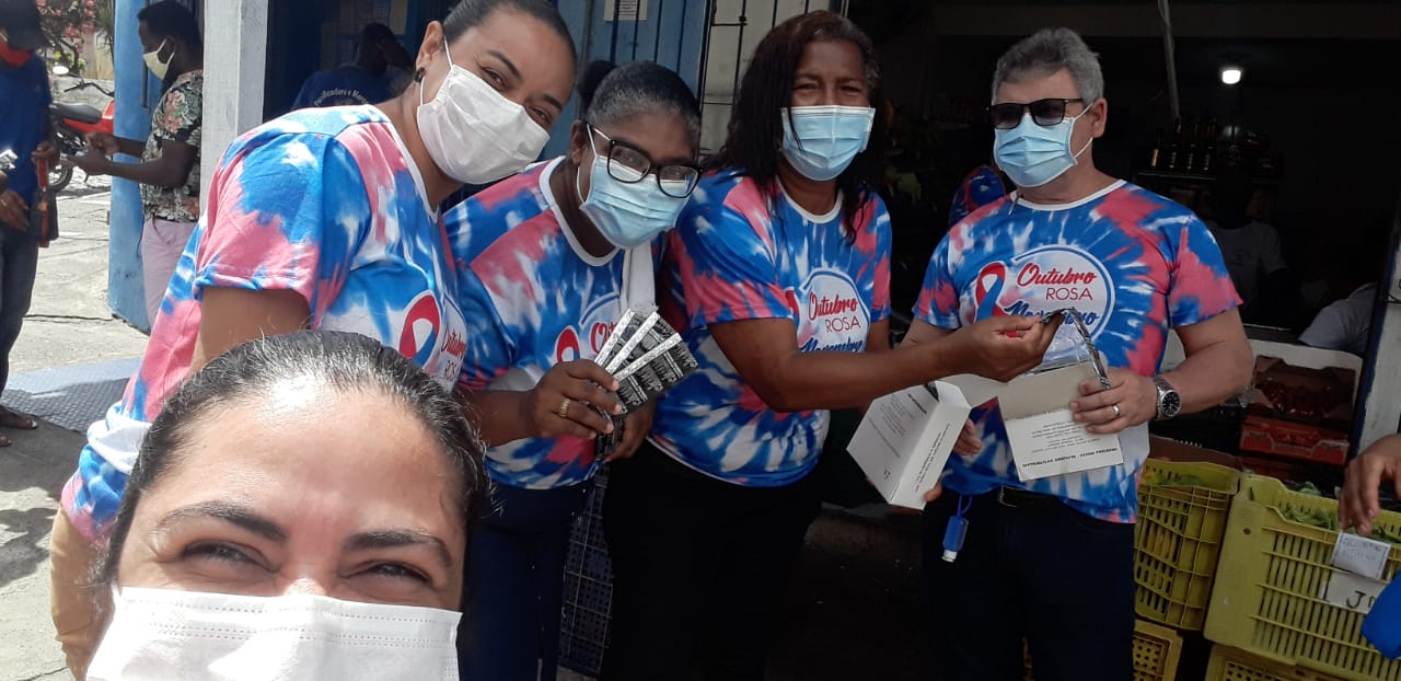 Dezembro Vermelho: Unidades de Saúde realizam ações com distribuição de preservativos e testes rápidos para detecção de HIV, sífilis e hepatite