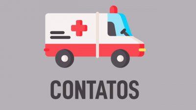 Prefeitura disponibiliza o contato com as ambulâncias que atendem urgências e emergências na sede e bairros