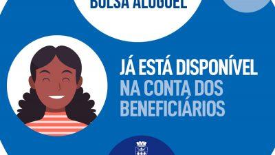 Pagamento do Bolsa Aluguel já está disponível