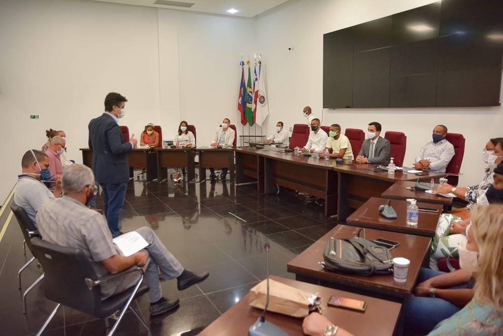Poderes Executivo e Legislativo unem forças contra o coronavírus