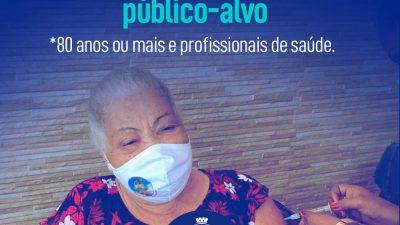 São Francisco do Conde já vacinou mais de 85% do público-alvo contra o coronavírus