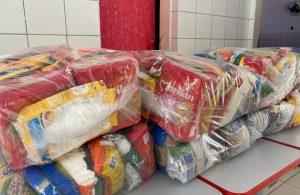 Distribuição dos Kits Alimentação Escolar foi concluída com êxito no município