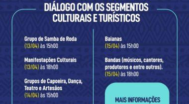 SECULT realiza Escuta Virtual Cultural e Turística