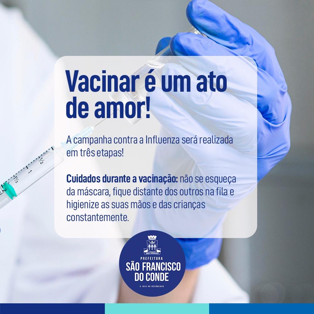 Primeira fase da vacinação contra influenza segue até 10 de maio para crianças, gestantes e trabalhadores da saúde