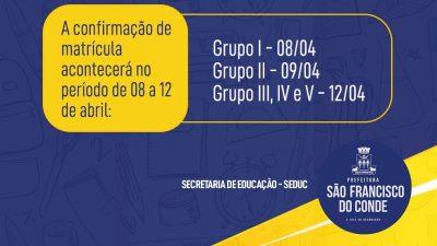 Comunicado aos pais ou responsáveis que realizaram a Pré-Matrícula na Creche Isidória Borges