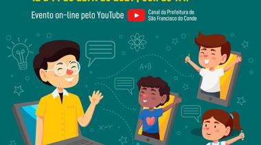 Diálogos Pedagógicos Virtuais da Educação Infantil 2021: Evento será online e acontecerá entre os dias 12 e 14 de abril