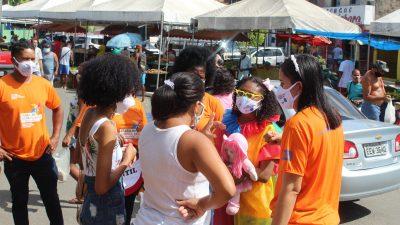 Dia Mundial Contra o Trabalho Infantil foi lembrado com ação da SEDES