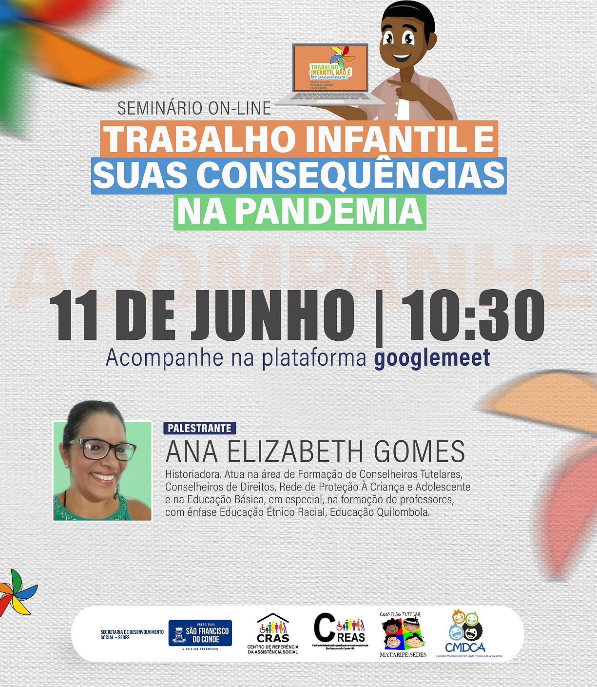 Dia Mundial contra o Trabalho Infantil será lembrado com seminário on-line