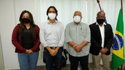 Prefeitos das 06 cidades que integram o Consórcio Baía de Todos os Santos se reuniram para tratar da Policlínica