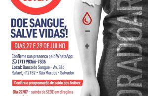 Participe da Campanha 'Sangue Jovem' e ajude a salvar vidas