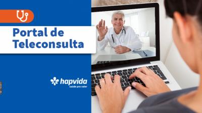 Beneficiários do Hapvida vão poder realizar consultas por telemedicina
