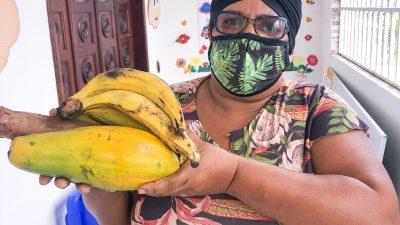 Famílias foram beneficiadas pelo Programa de Aquisição de Alimentos (PAA)