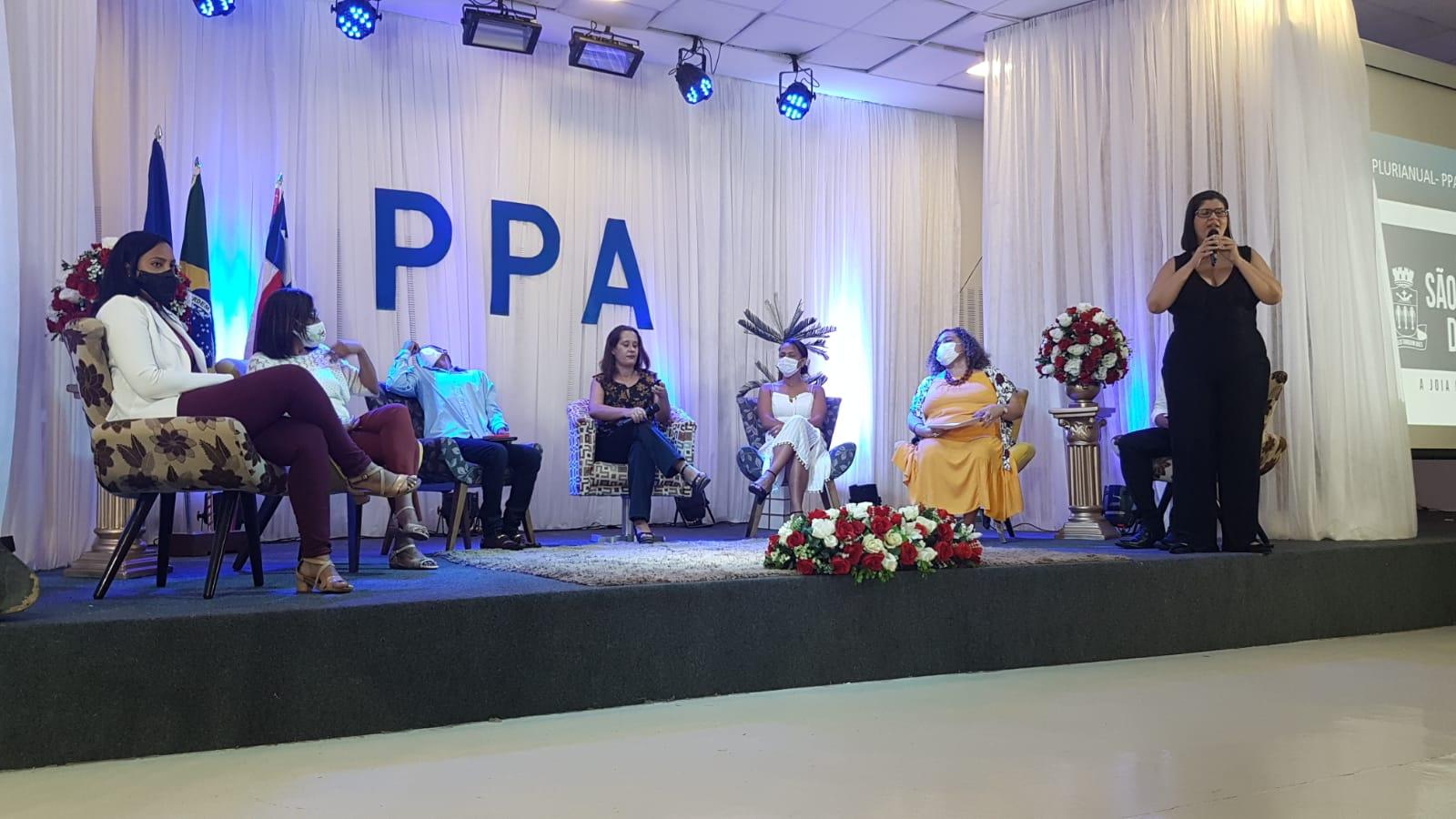 Conferência Pública para elaboração do Plano Plurianual – PPA para o Quadriênio 2022-2025