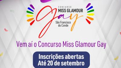 São Francisco do Conde promove Concurso Miss Glamour Gay