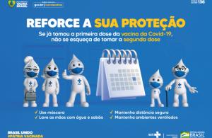 Prefeitura antecipa vacinação (PFIZER) contra a COVID-19 para pessoas com retorno agendado até 10 de novembro